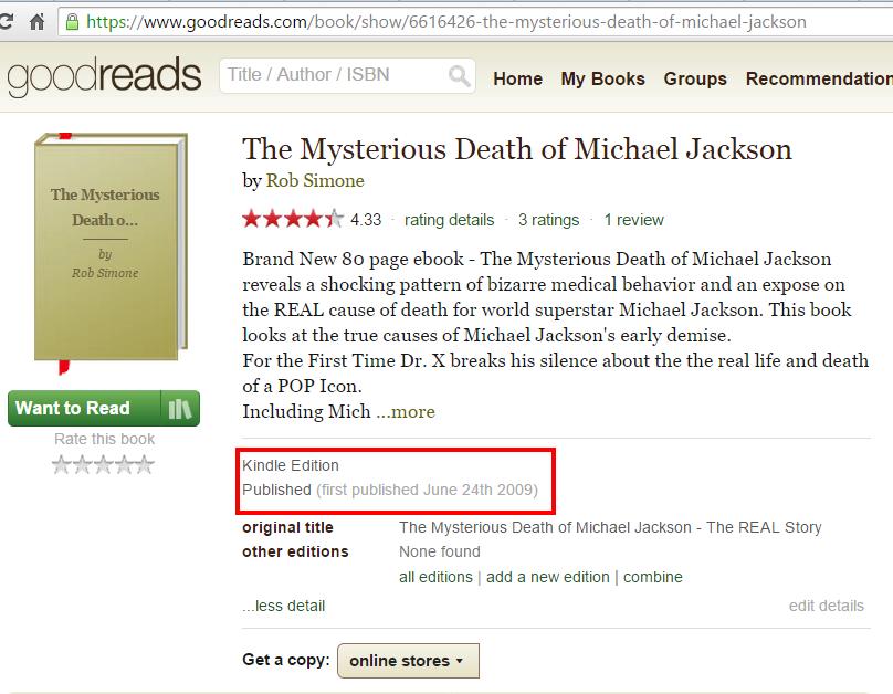 book death